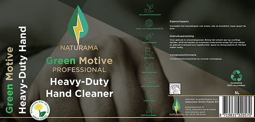 Green Motive Heavy Duty Hand Cleaner