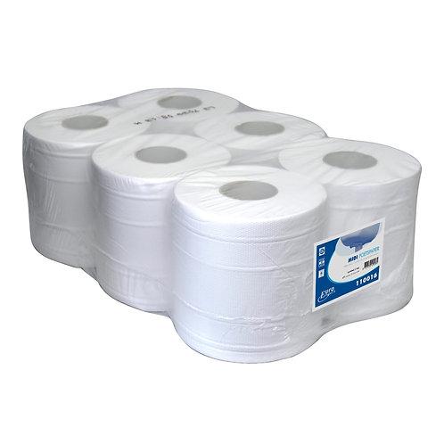 ECO Poetsrol 160m 2lgs cellulose pak 6 rollen