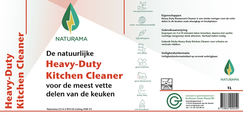 Heavy Duty Kitchen Cleaner