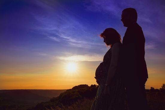 Séance photo de grossesse avec Julien M