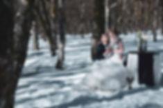 Trash the dress montagne Vosges, séance day after, mariage neige, mariage hiver, photo mariage neige, julien maria, photographe grand est, honeck, la bresse-PhotographeMariageVosges14.jp