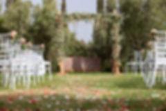 Cérémonie laïque Marrakech - Domaine de Tameslhote