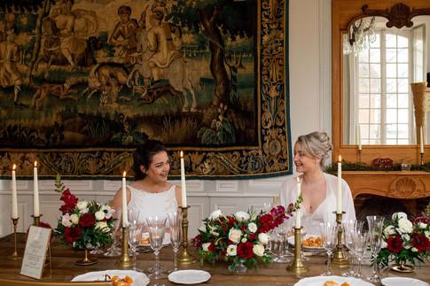 mariage normandie - chateau de carsix -