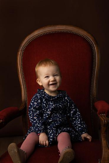 Portrait enfant au studio photo Mirecour
