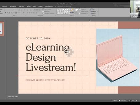 #ELHChallenge 256: Using Webcam Video to Create Interactive Lectures