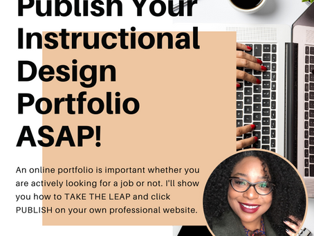 Free Online Portfolio Webinar: Click Publish, Tonight!