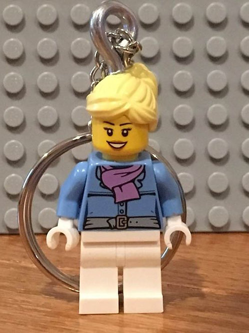 Personalized Minifigure Keychain