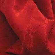 Red Crushed Satin