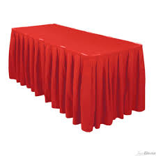 Red 13 Ft Skirting