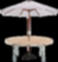 Umbrella Table Set