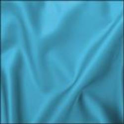 Turquoise Crepe Satin