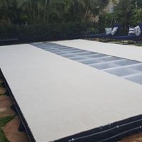 Pool Cover Runway