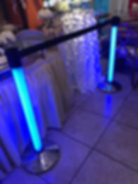 LED Light Up Stanchion