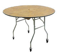 "36"" Rolling Cake Table"
