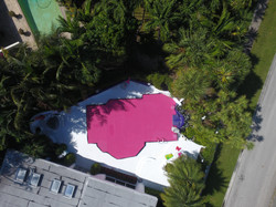 Pink Pool Cover