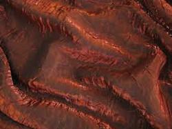 Copper Crushed Satin