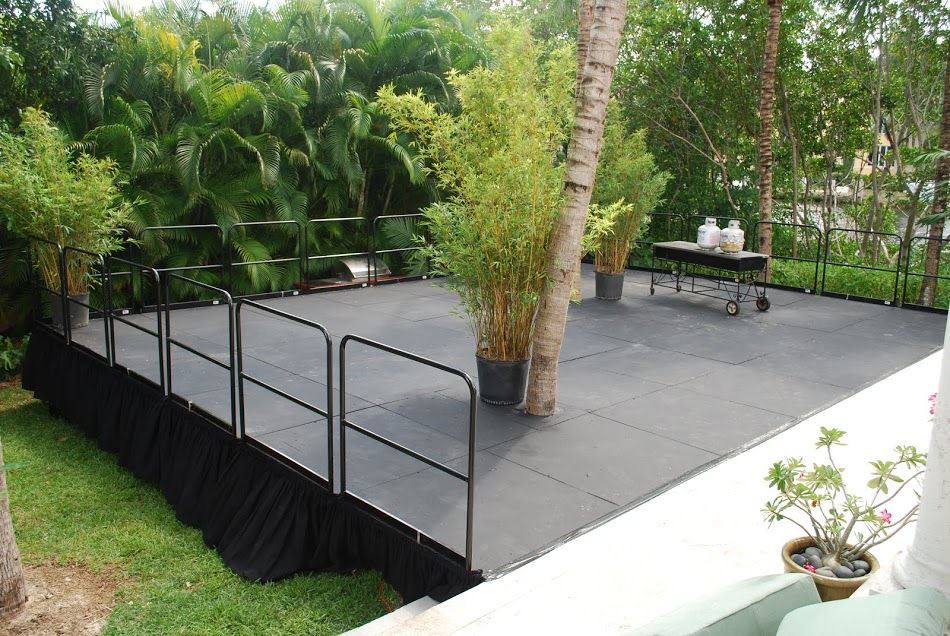 Custom Stage With Rails