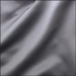 Silver Crepe Satin