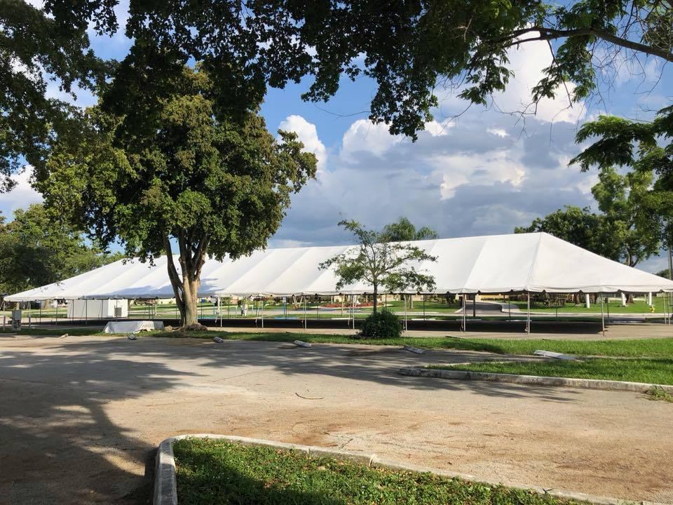 40x180 Frame Tent