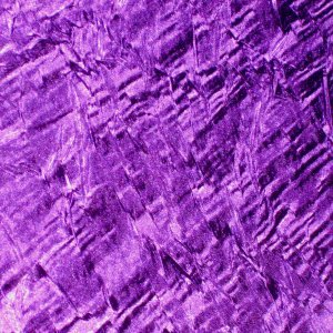 Purple Crushed Satin