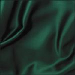 Hunter Green Crepe Satin