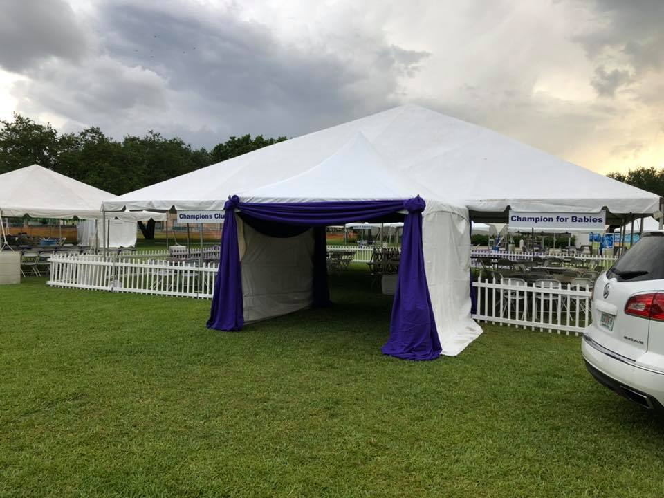 40x40 Frame Tent