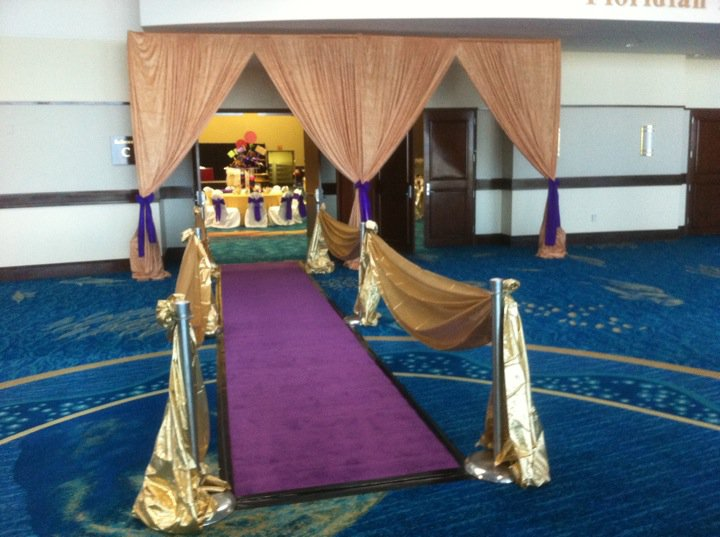 Purple Carpet For Prom