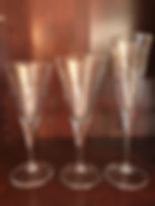 Champagne Water Wine Glass Set