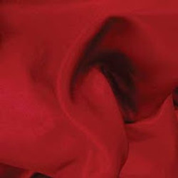 Red Crepe Satin