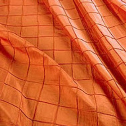 Orange Pintuck