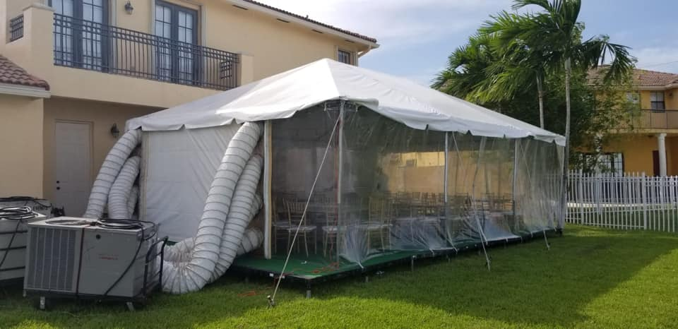 15x30 Frame Tent