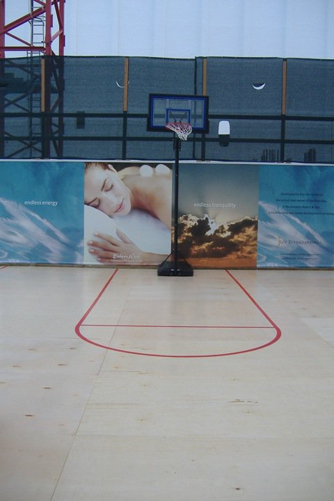Custom Basketball Floor