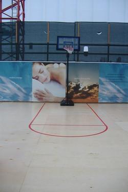 Custom Basketball Floor