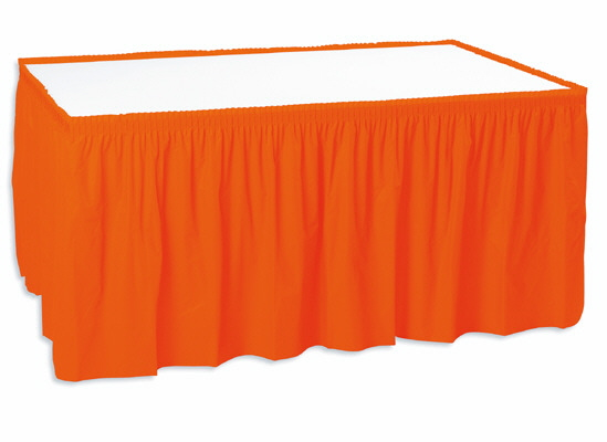 Orange 13 Ft Skirting