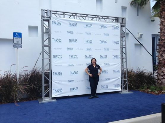 Blue Carpet Step & Repeat