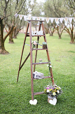 Olive Grove Wedding Decor