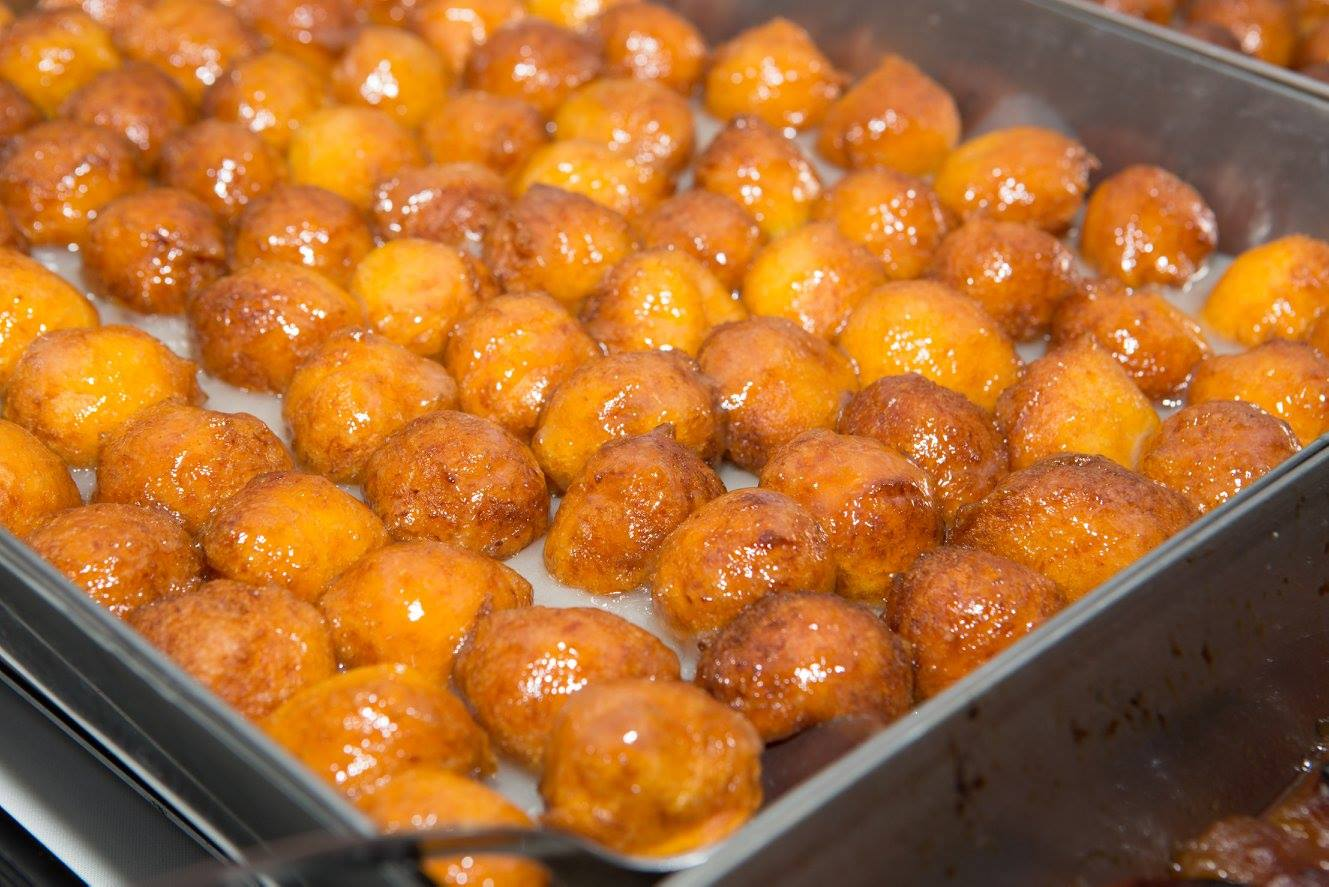 Rusticana's famous Pumpkin Fritters