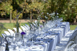 Elegant Olive Grove Table Setting