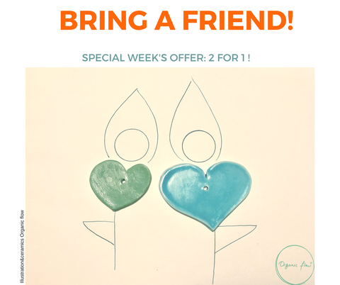 Special offer for St Valentine's Week