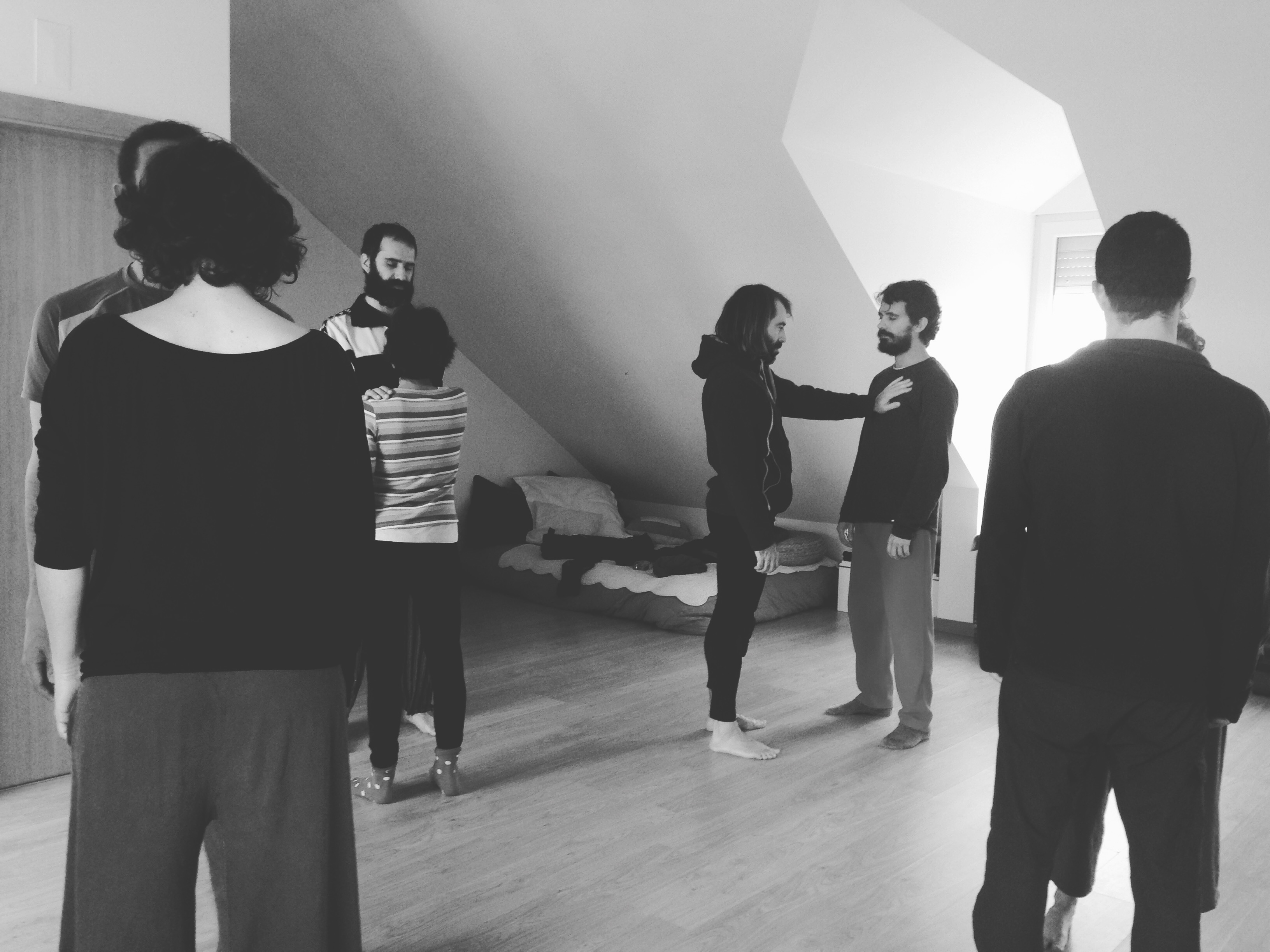 Dance Contact Improvisation
