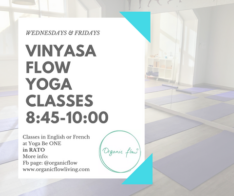 New Classes in RATO Wednesday & Friday