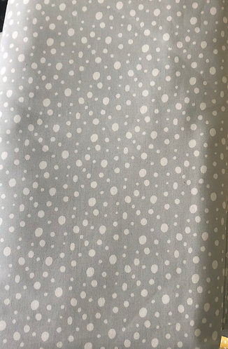 Polka Dot Nursery Linen - Ice blue