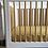 Thumbnail: Polka Dot Nursery Linen - Mustard