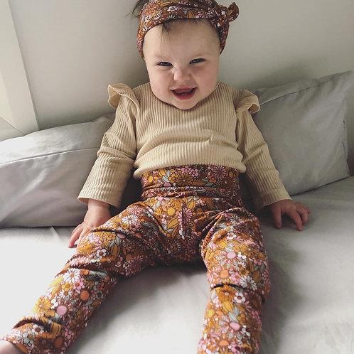 Abby Retro Pants and Headband