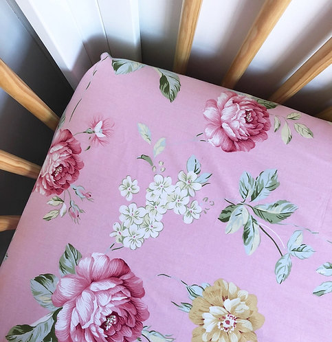 Rose Floral  Pink Sheets