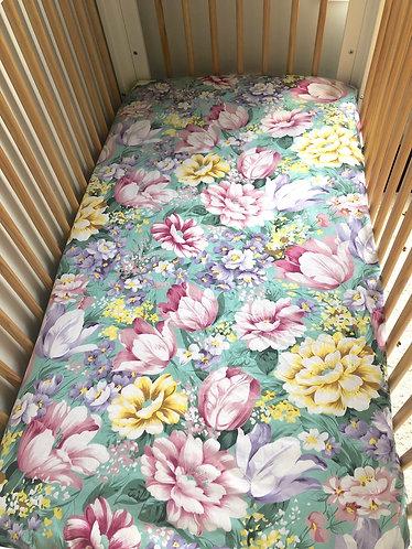 Full Blossom Cot Sheet