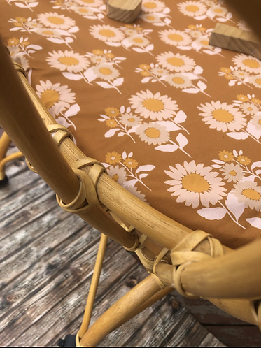 Sunlower Retro Nursery Linen