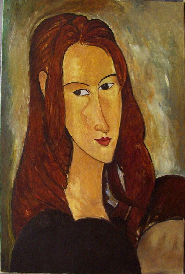 Modigliani copia da