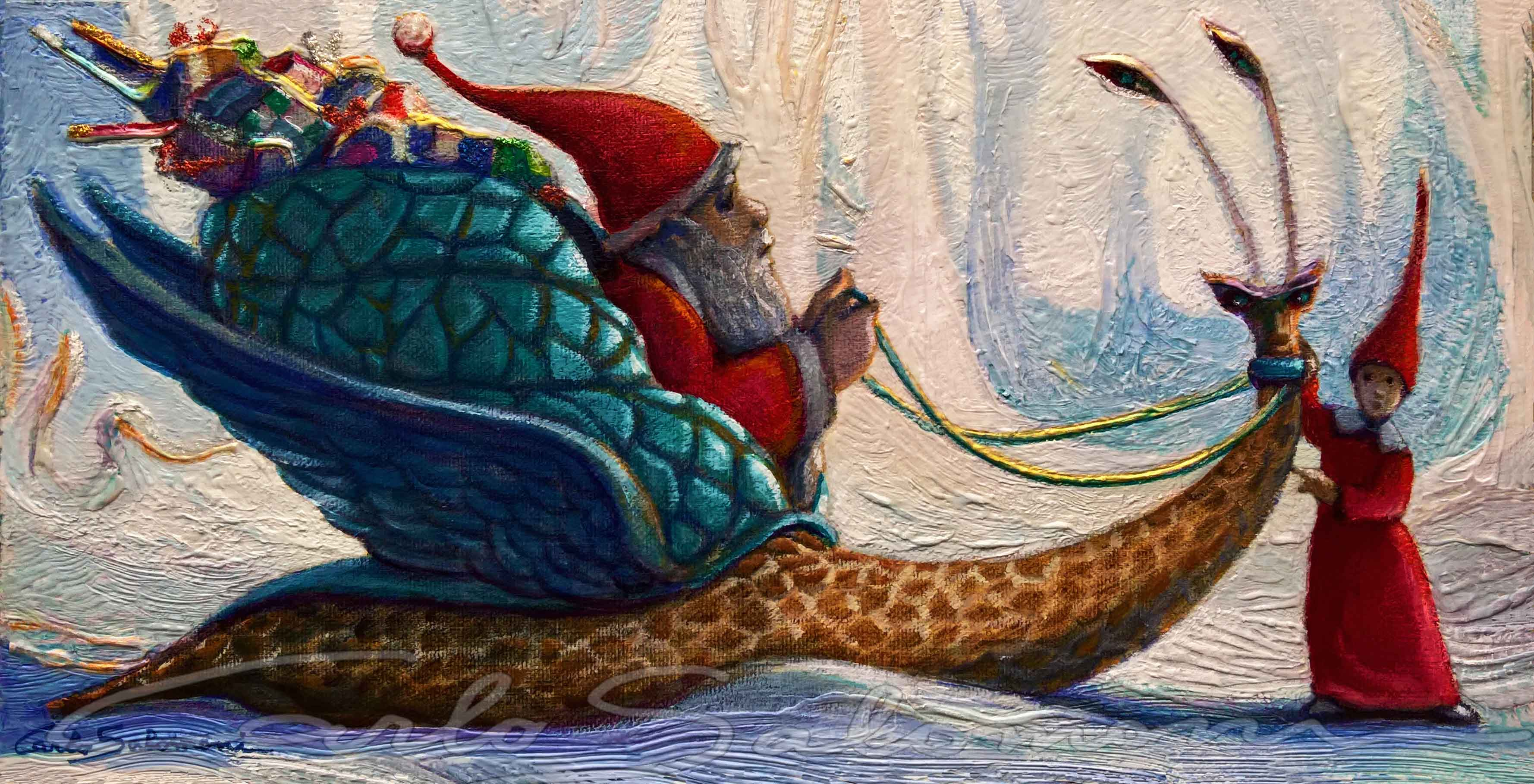THE MAGICAL SNAIL OF SANTA CLAUS
