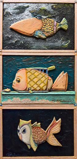 THREE STRANGE FISHES